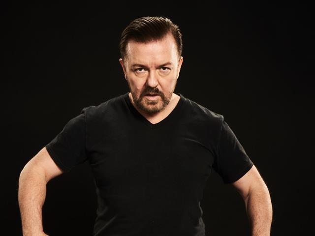 Ricky Gervais wird
