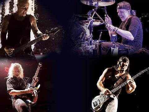 Metallican jättikonsertti heinäkuussa!