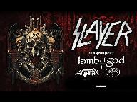 Slayer + special guests Lamb Of God, Anthrax & Obituary