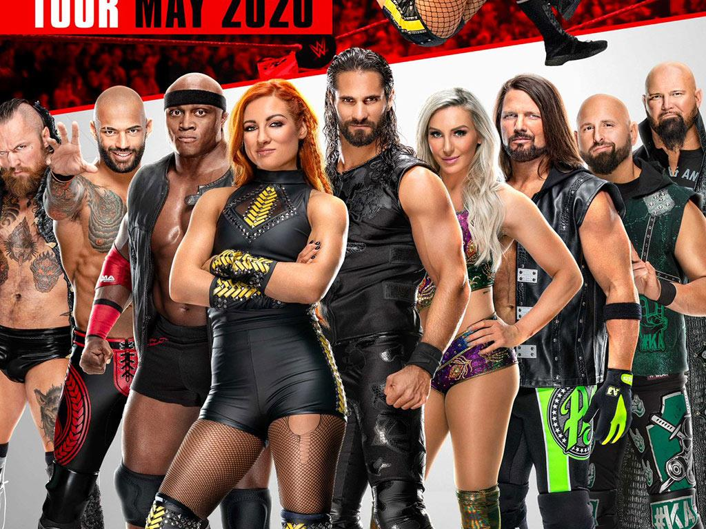 Wwe Events 2020 Schedule.Buy Tickets For Wwe Live At Motorpoint Arena Cardiff On 06