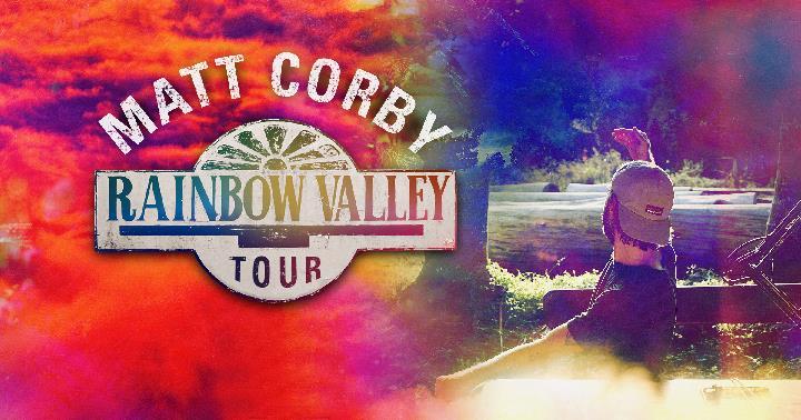 Matt Corby - Rainbow Valley Tour