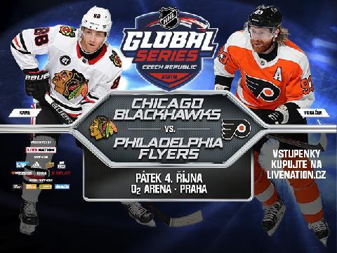 2019 NHL Global Series: Chicago Blackhawks vs. Philadelphia Flyers