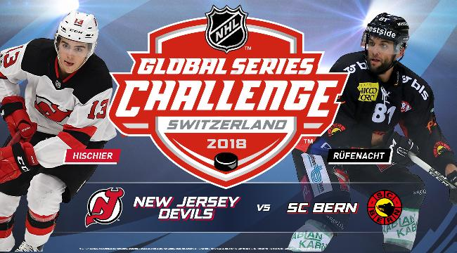 NHL Global Series Challenge | Bern