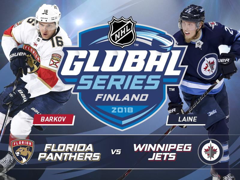 Bildresultat för winnipeg jets  vs florida finland