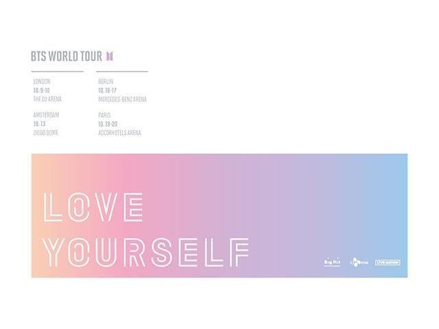 Tickets für BTS WORLD TOUR \'LOVE YOURSELF\' in Mercedes-Benz Arena am ...