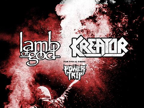 Lamb of God & Kreator: State Of Unrest Tour