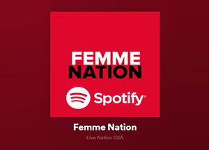 Femme Nation: Spotify Playlist