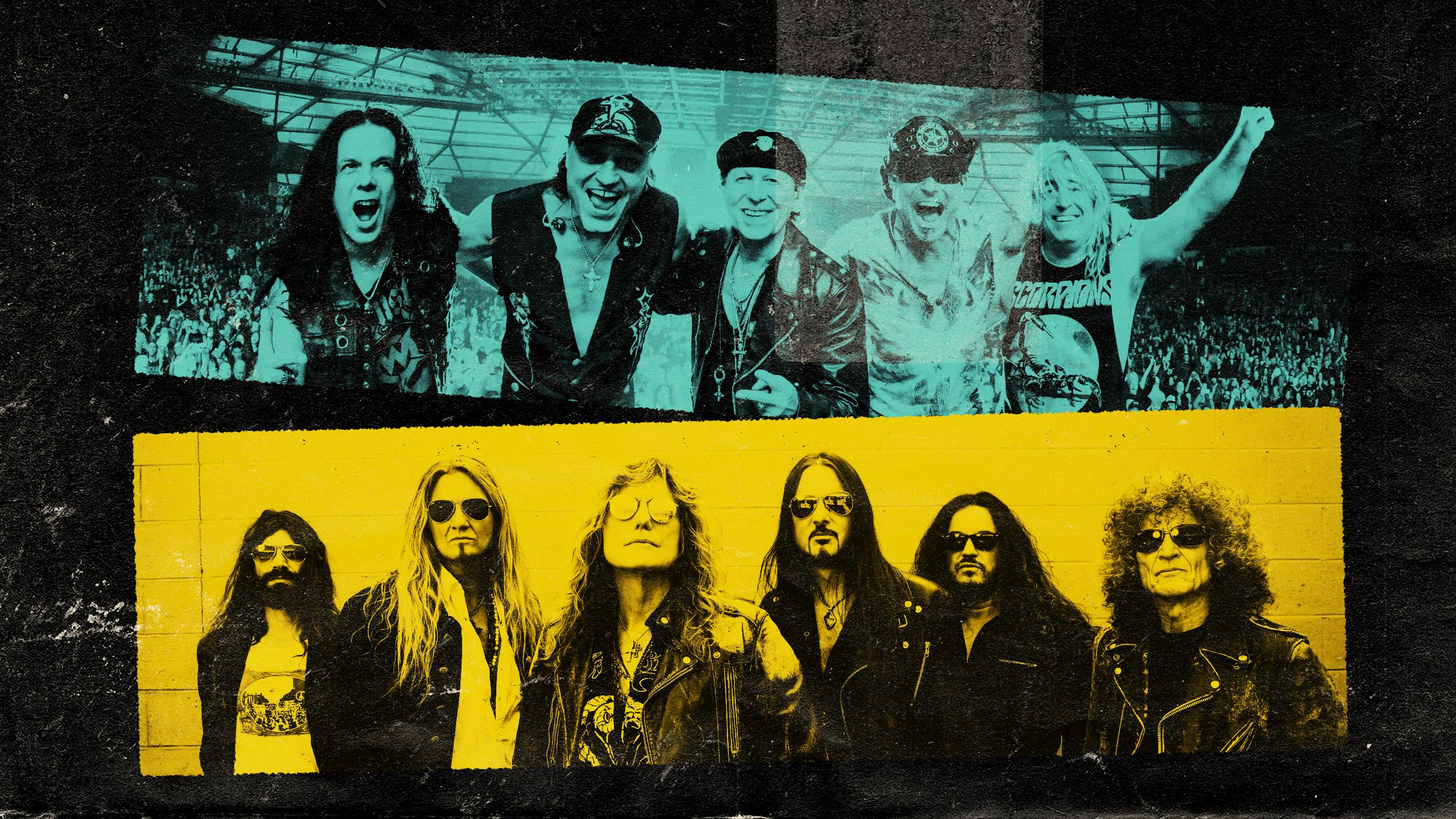 Buy tickets for Scorpions & Whitesnake at Qudos Bank Arena ...