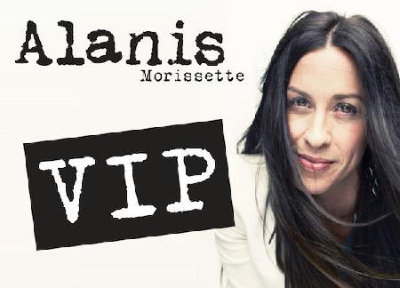 Alanis Morissette VIP pakker