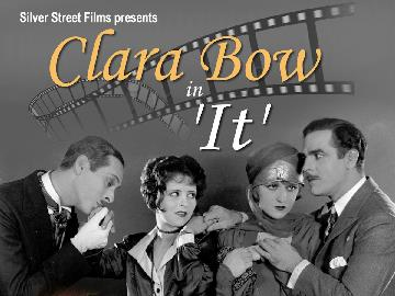 Classic silent film 'It', starring Clara Bow, with live theatre organ accompaniment by David Gray