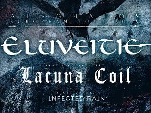 ATEGNATOS EUROPEAN TOUR feat. Eluveitie + Lacuna Coil + Infected Rain