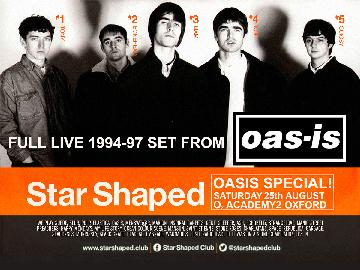 Star Shaped Club Launch Party / Oasis Special