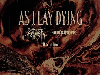 AS I LAY DYING: SHAPED BY FIRE TOUR EUROPE 2019