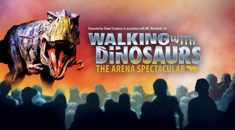 Walking With Dinosaurs The Arena Spectacular Liput