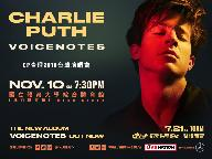 CHARLIE PUTH THE VOICENOTES TOUR