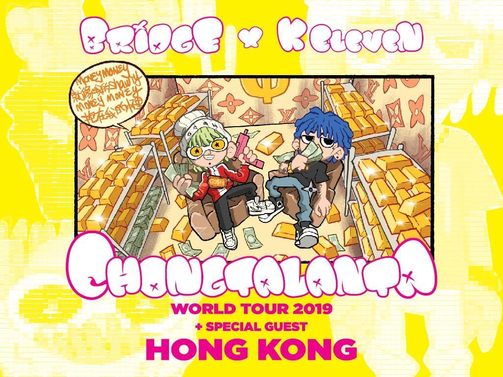 Bridge x K Eleven Chongtalanta World Tour in Hong Kong